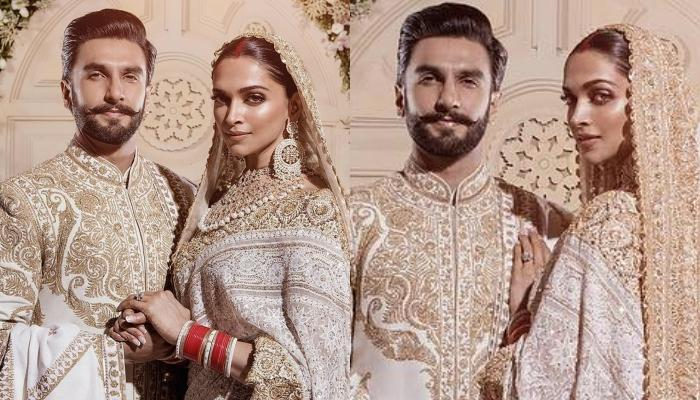 Ranveer Singh And Deepika Padukone Look Like A Royal Vision In White On Their Mumbai Reception
