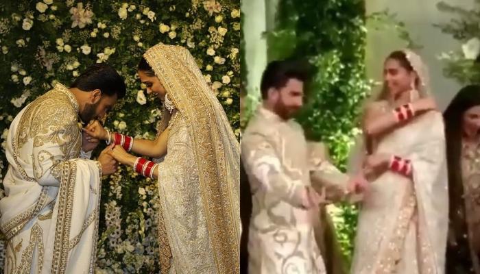 Ranveer Singh's Impromptu Dance Moment With Wife Deepika Padukone At Mumbai Wedding Reception