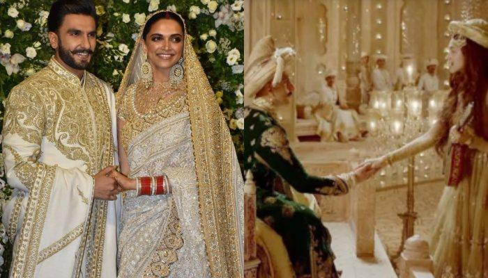 Deepika-Ranveer Recreate Deewani Mastani Scene At Their Mumbai Reception But With A Surprise Element