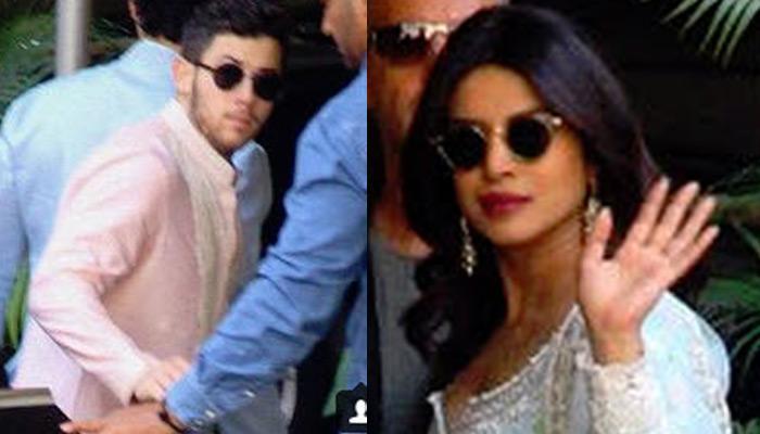 First Look Of Priyanka Chopra And Nick Jonas From Their Pre-Wedding Puja, Celebrations Begin