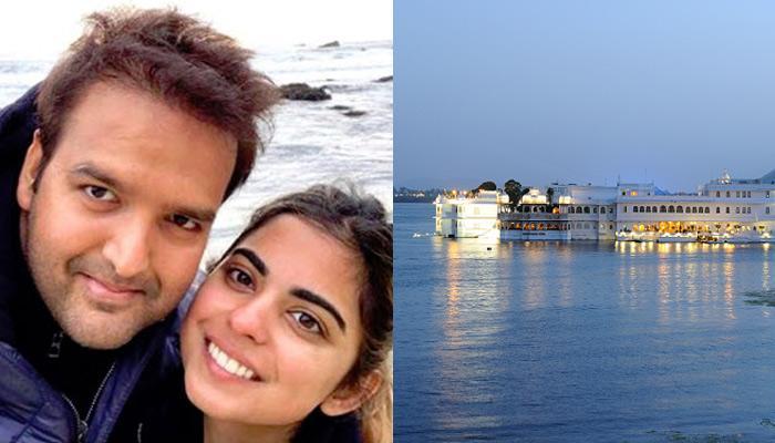 Isha Ambani-Anand Piramal's Pre-Wedding Festivities Will Be On Floating Stage On Lake Pichola