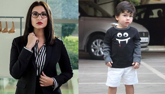 Parineeti Chopra And Taimur Ali Khan Twinning In Similar Black T-Shirts Are A Treat To The Eyes