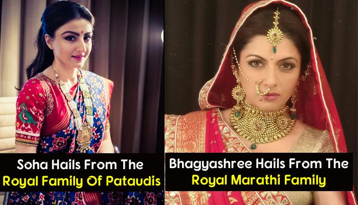 8 Bollywood Divas Who Are Real Life Princesses And Belong To The Royal Family