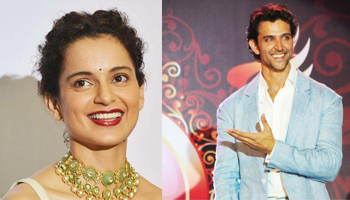 Shockingly, Kangana Ranaut Recites A Soulful Poem For Her Alleged Ex-BF Hrithik Roshan At An Event
