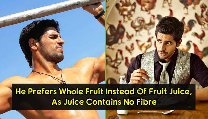 Fitness Secrets And Diet Routine Behind Ripped Hot Body Of Sidharth Malhotra