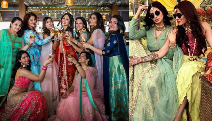 Dear Bestie, Let's Have These Bridesmaids' Shots At Your Wedding To Show Our 'Pakki Dosti'