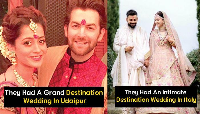 17 Famous Celebrity Couples Who Had Stunning Destination Weddings