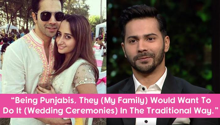 Varun Dhawan Talks About His Wedding, Clearing The Rumours Of Him Marrying Natasha In 2018