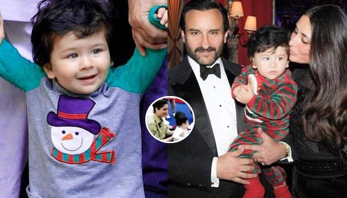 Watch Taimur Ali Khan Dancing Uncontrollably At Recent Birthday Party, Looks Adorable