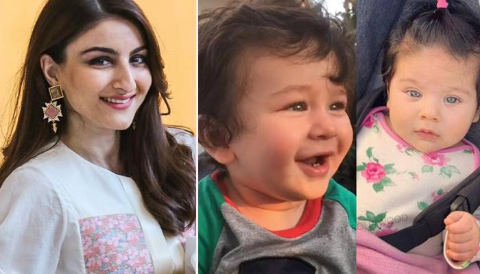 Soha Ali Khan Reveals Why There Is No Group Picture Of Taimur And Inaaya With Their Mommies