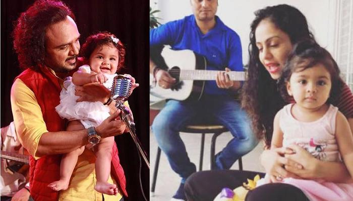 Singer Parents Manasi And Parthiv Teach Music To Their One-Year-Old Daughter, She's A Quick Learner