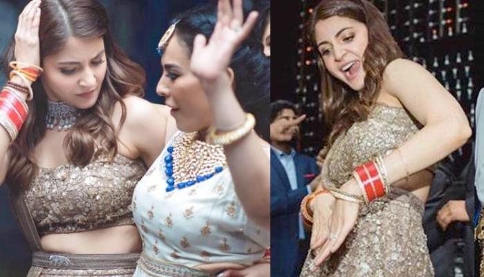'Punjabi Swag Bahu' Anushka Sharma Dancing With 'Chooda' On Her Reception [Unseen Pictures]