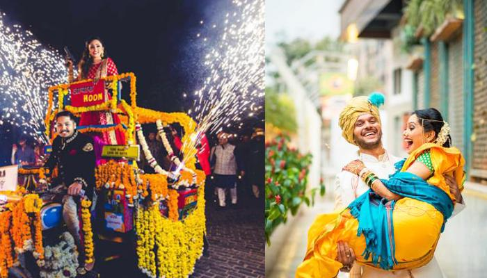 These 15 Ways Can Give You A 'Hatke' Couple Entry To Call It A 'Grand' Start
