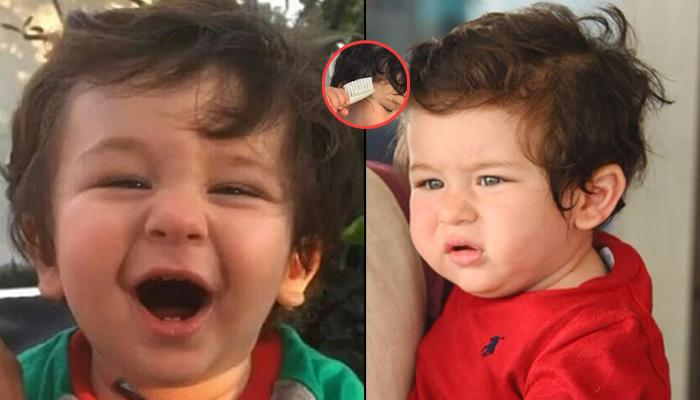Taimur Ali Khan Adorably Combs His Hair In This Latest Picture, And We Can't Take Our Eyes Off Him