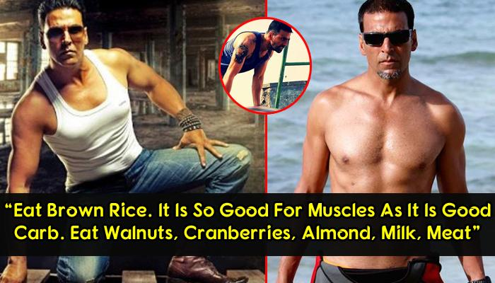 Fitness Regime And Diet Plan Behind The Super Hot Body Of 'Padman' Actor Akshay Kumar