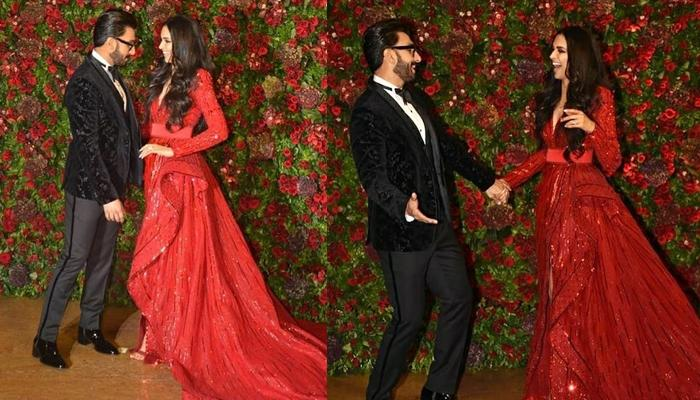 Deepika Padukone And Ranveer Singh's PDA In Mumbai Reception Is Totally Unmissable, Pics Inside