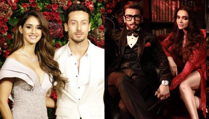 Disha Patani And Tiger Shroff Finally Make It Official By Walking In Together At DeepVeer Reception