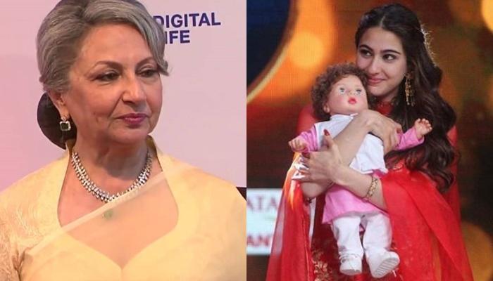 Sara Ali Khan's Awkward Encounter With Taimur Ali Khan-Doll Leaves Dadi Sharmila Tagore Alarmed