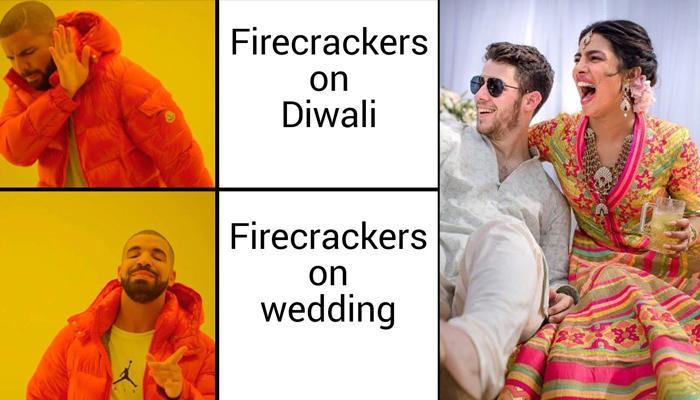 Priyanka Chopra Trolled For Having Fireworks At Her Wedding, Despite Supporting Cracker Free Diwali