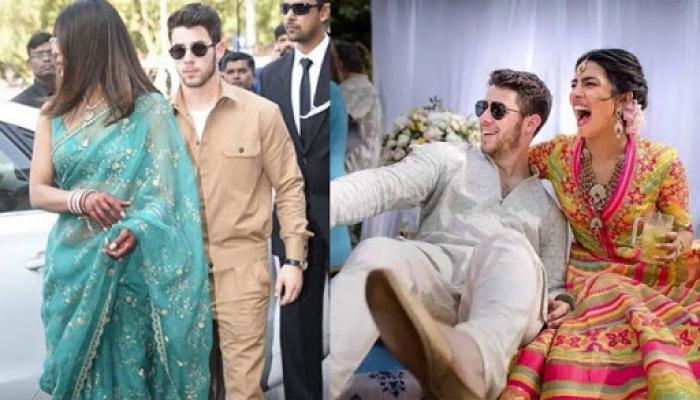 Priyanka Chopra And Nick Jonas' First Look After Wedding, Newly Bride Glows In Sindoor And Chooda