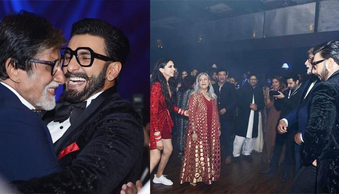 Amitabh Bachchan Reveals Who Won Girls Vs Boys Dance Face-Off At Deepika And Ranveer Reception