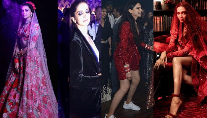 Deepika Padukone Lessons Brides On How To Switch From Heavy Dresses To Comfy After-Party Outfits