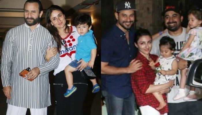 Taimur Ali Khan's Pre-Birthday Bash Hosted By Mom Kareena Kapoor; Inaaya, Kainaat, Laksshya Attend