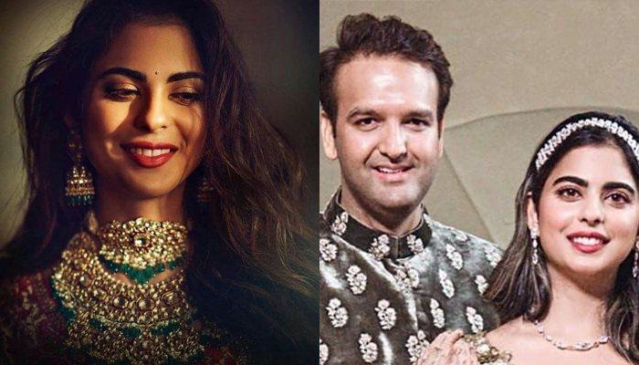 Isha Ambani's Pre-Bridal Glow On Her Face Is Eminent, Looks Beautiful Posing With A Famous Designer