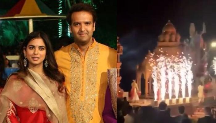 Isha Ambani And Anand Piramal's Pre-Wedding Ceremony Begins With 'Sandhya Maha Aarti', Video Inside