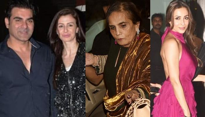 Arbaaz Khan's GF Giorgia And Ex Malaika Arora Ring In Salma Khan's Birthday, Khan Khandaan Joins In