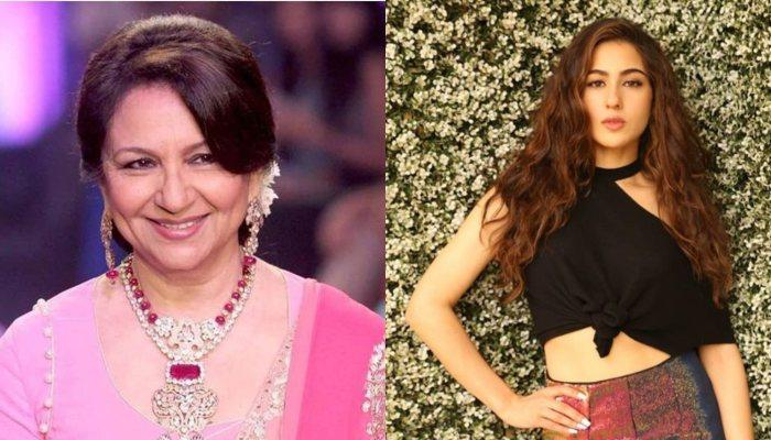 Sharmila Tagore Feels Proud Of The Way Granddaughter Sara Ali Khan Stood Up For Her Father In KWK