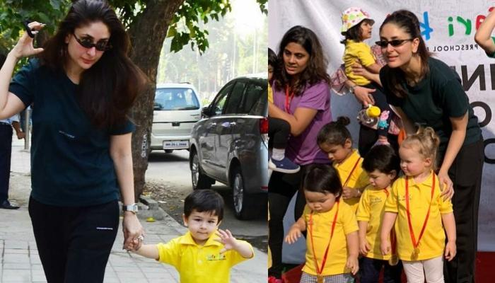 Taimur Ali Khan And Kareena Kapoor Khan Enjoy Mother-Son Day Out On Sports Day, Videos Inside