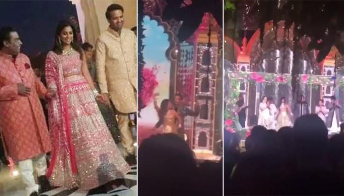 Isha Ambani And Anand Piramal Dance Together On 'Mitwa' On Their Sangeet, Video Inside