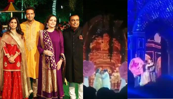 Mukesh And Nita Ambani, Shloka Mehta And Anant Ambani All Dance Together On Isha's Sangeet
