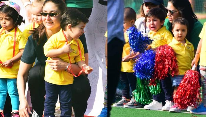 Taimur Ali Khan Hates Being A Cheerleader On Sports Day At School, Wins His First Medal