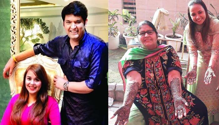 Kapil Sharma And Ginni Chatrath Mehendi Ceremony First Pictures Out