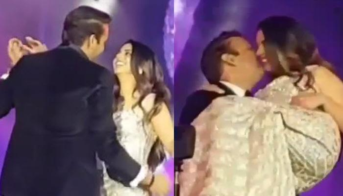 Isha Ambani And Anand Piramal Can't Take Their Eyes Off Each Other In This Romantic Dance Number