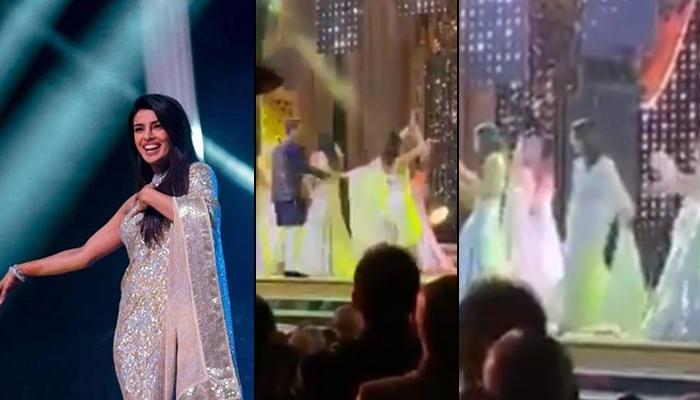 Priyanka Chopra Spreads Her 'Desi Girl' Magic At Isha Ambani And Anand Piramal's Sangeet