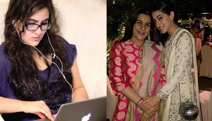 Sara Ali Khan's Mom Amrita Singh Didn't Recognise Her At The Airport After Her Weight Loss