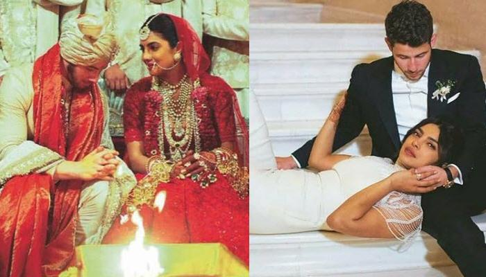48781230ed Unseen Pictures From Priyanka Chopra And Nick Jonas's Christian And Hindu  Wedding Album, Look Divine