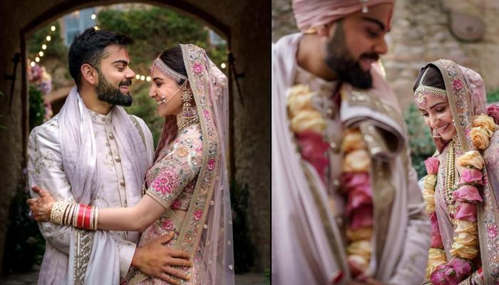 Virat Kohli And Anushka Sharma Share Unseen Pictures And Wedding Video On Their First Anniversary