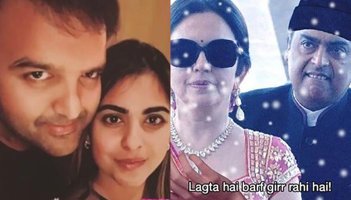 Isha Ambani And Anand Piramal's Pre-Wedding Celebrations Were A Hub For Hilarious Memes