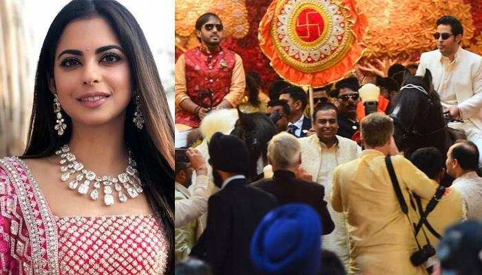 Isha Ambani's Brothers, Akash And Anant Ambani's Heroic Entry On Horses At Their Sister's Wedding
