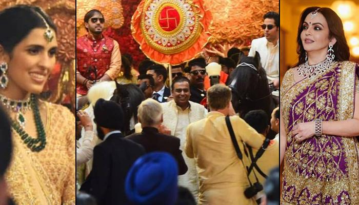 Nita-Mukesh Ambani, Anant Ambani, Akash-Shloka All Set For Isha Ambani And Anand Piramal's Wedding