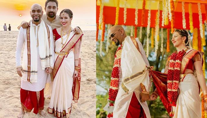 Raghu Ram And Natalie Di Luccio's First Official Wedding Pictures Are Finally Out