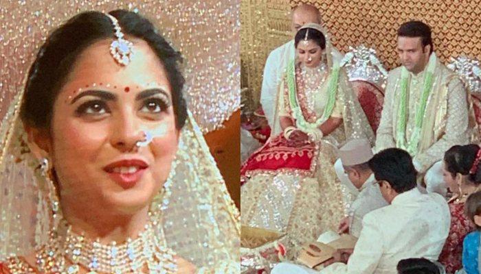 Isha Ambani And Anand Piramal's First Look From Their Gujarati Wedding, Bride Looks Like A Princess