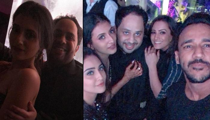 Additi Gupta Dances Like There's No Tomorrow With Drashti, Krystle, Pooja, Kritika On Cocktail Night