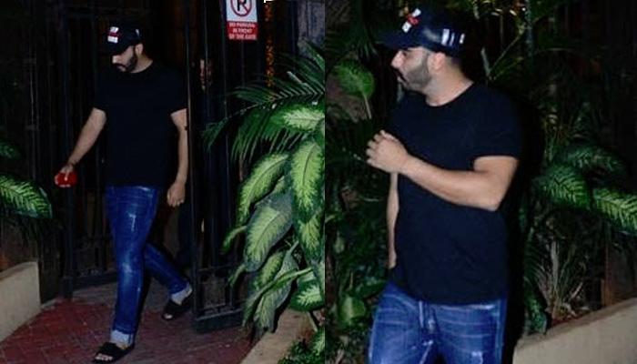 Arjun Kapoor Spotted Leaving Rumoured Girlfriend Malaika Arora's Residence, Pictures Inside