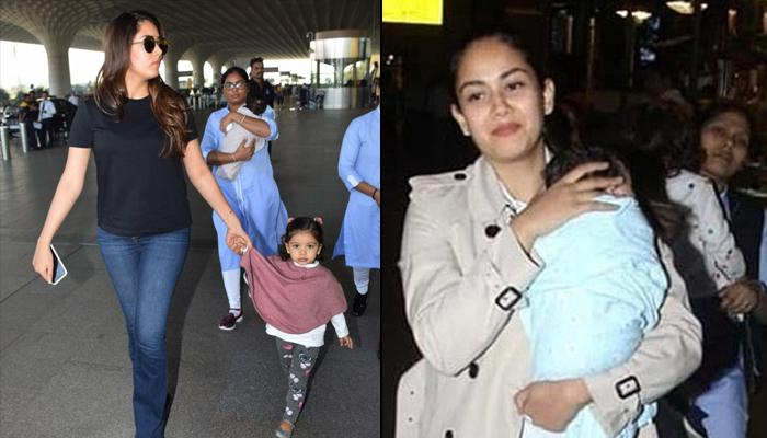 Mira Rajput Kapoor Trolled For Carrying Zain Kapoor This Time, In Her Arms, At The Mumbai Airport