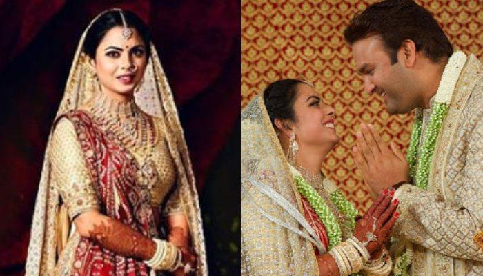 Isha Ambani Wore Mommy Nita Ambani's 35-Year-Old Wedding Saree On Her Wedding, Full Pic Inside